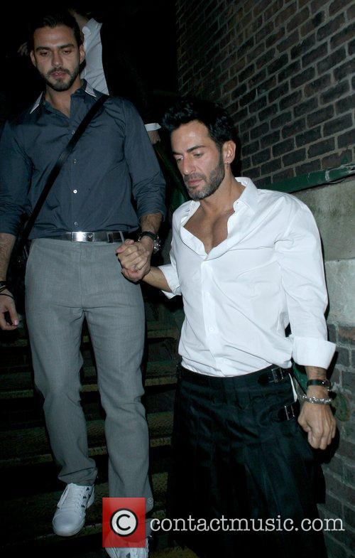 Marc Jacobs and Guest Mercedes-Benz IMG New York...