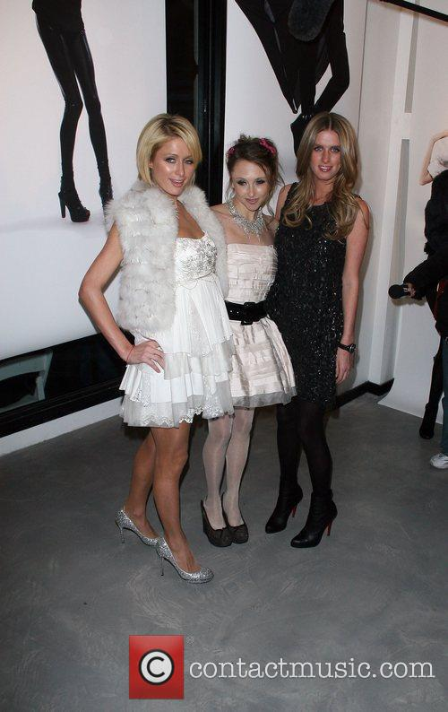 Paris Hilton, Nicky Hilton and Stacey Bendet Mercedes-Benz...