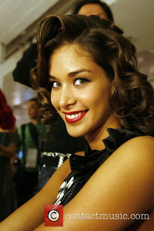 Miss Universe Dayana Mendoza Mercedes-Benz IMG New York...