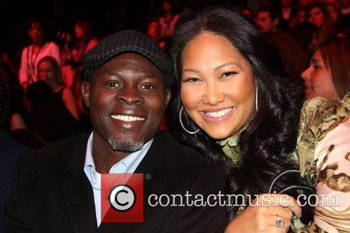 Djimon Hounsou and Kimora Lee Simmons  Mercedes-Benz...