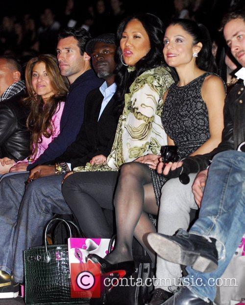 Kimora Lee Simmons and Bethany Frankel Mercedes-Benz IMG...