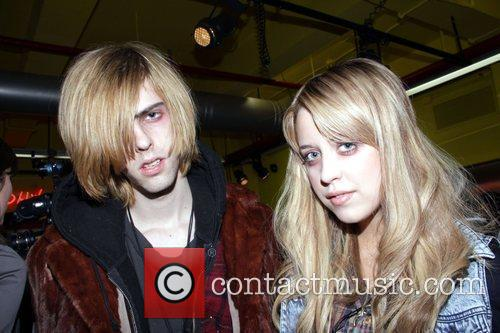 Peaches Geldorf and Guest Mercedes-Benz IMG New York...