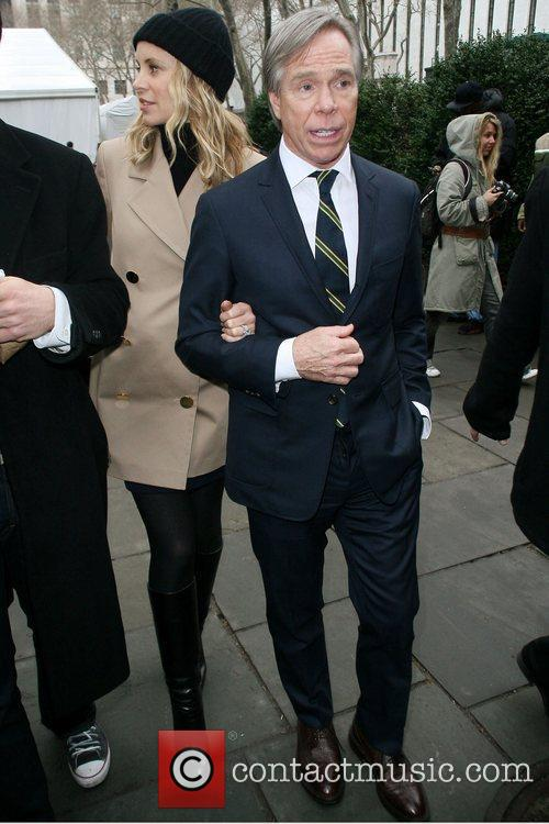 Dee Ocleppo and Tommy Hilfiger Mercedes-Benz IMG New...