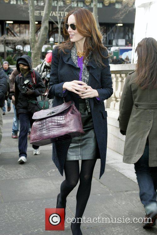 Eugenia Silva Mercedes-Benz IMG New York Fashion Week...