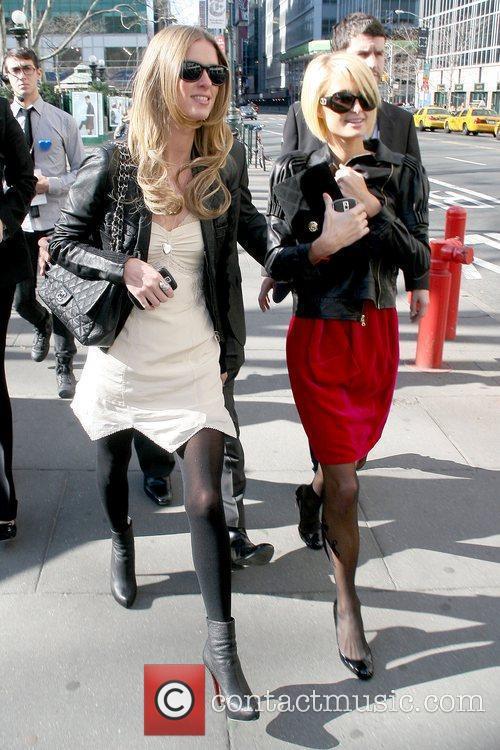 Nicky Hilton and Paris Hilton Mercedes-Benz IMG New...