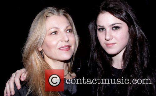 Tatum O'Neal and Daughter Mercedes-Benz IMG New York...