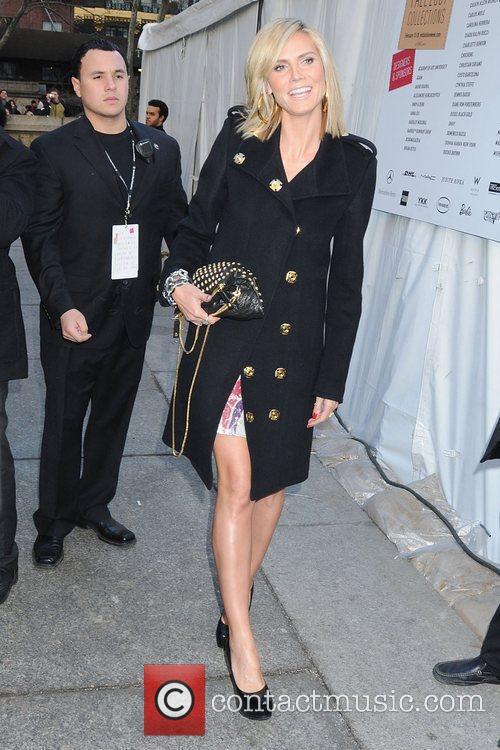Heidi Klum, Diane Von Furstenberg, New York Fashion Week