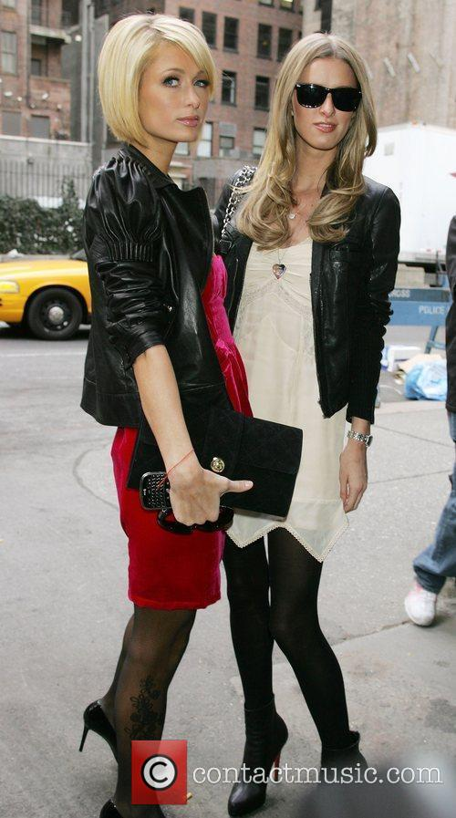 Paris Hilton and Nicky Hilton Mercedes-Benz IMG New...