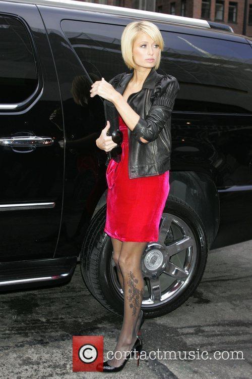 Paris Hilton Mercedes-Benz IMG New York Fashion Week...