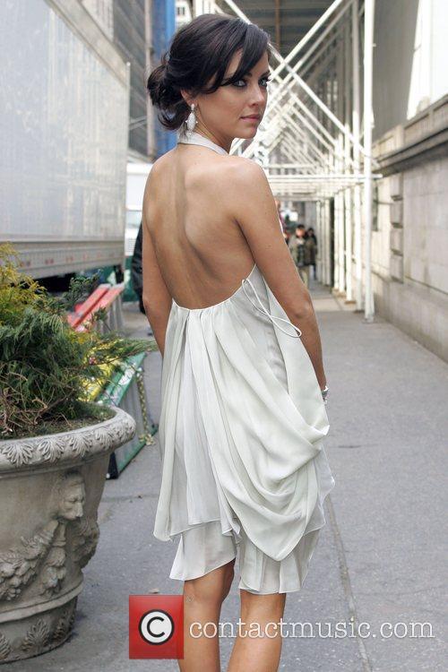 Jessica Stroup Mercedes-Benz IMG New York Fashion Week...