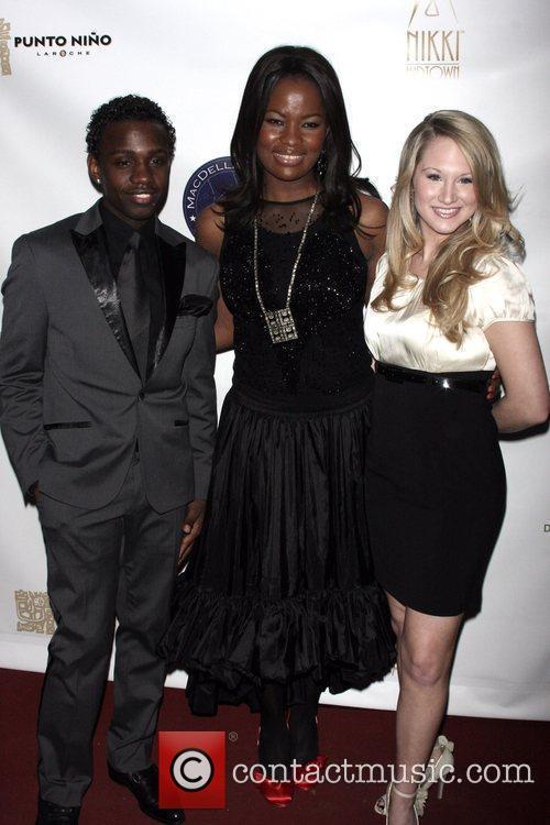 Vaughn Jereaux, MacDella Cooper and Bailey Hanks Korto...