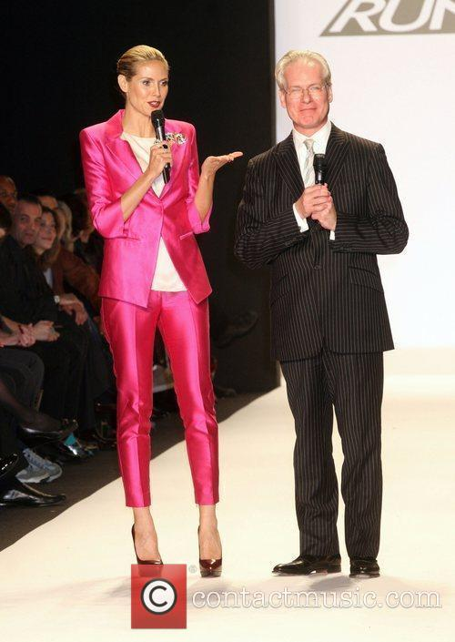 Heidi Klum and Tim Gunn 8