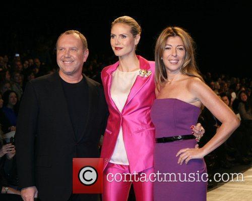 Michael Kors, Heidi Klum and Nina Garcia Mercedes-Benz...