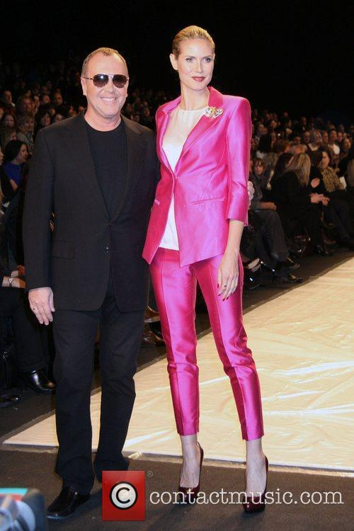 Michael Kors and Heidi Klum  Mercedes-Benz IMG...