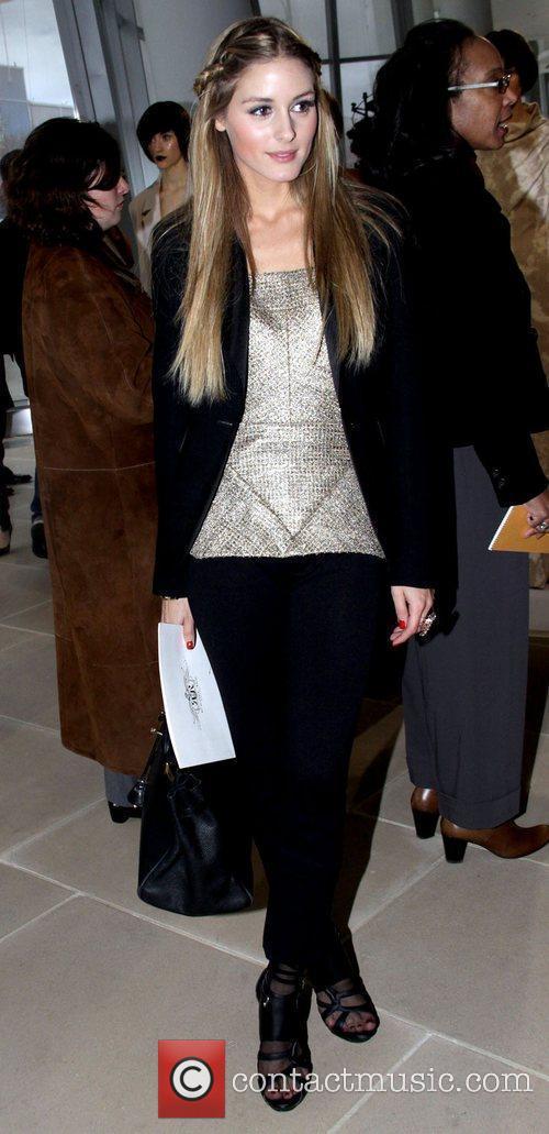 Olivia Palermo Mercedes-Benz IMG New York Fashion Week...