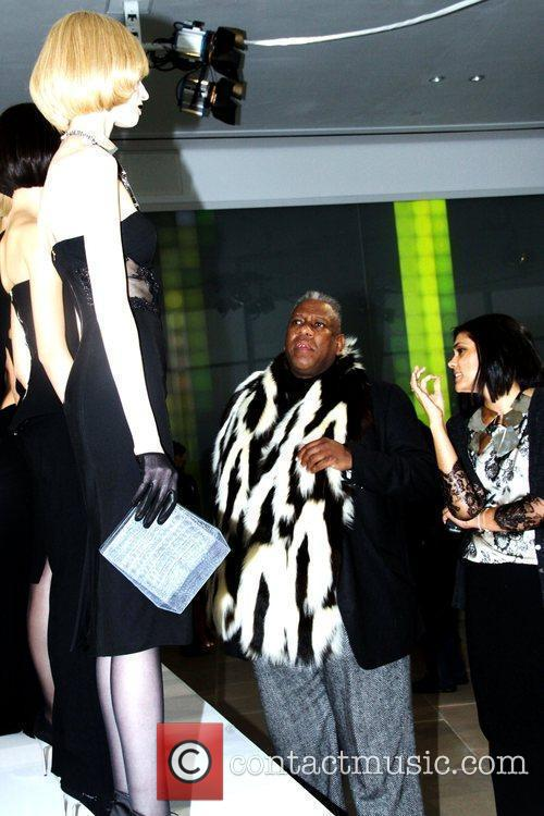Andre Leon Talley and Rachel Roy Mercedes-Benz IMG...
