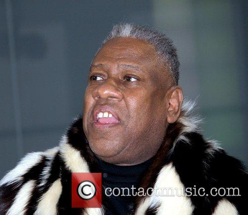 Andre Leon Talley Mercedes-Benz IMG New York Fashion...