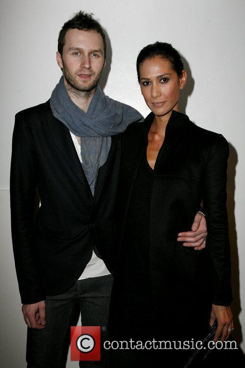 Toni Maticevski and Guest Mercedes-Benz IMG New York...