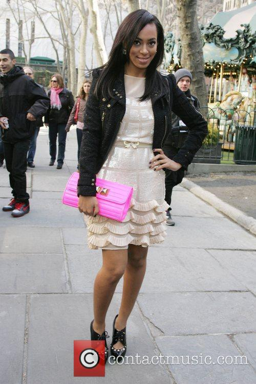 Solange Knowles Mercedes-Benz IMG New York Fashion Week...