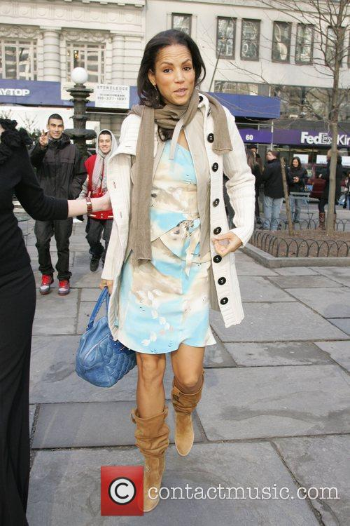 Veronica Webb Mercedes-Benz IMG New York Fashion Week...