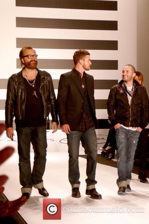 Johan Lindeberg, Justin Timberlake and Trace Ayala Mercedes-Benz...