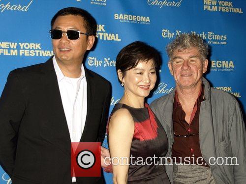 Kar Wai, Brigitte Lin and Christopher Doyle