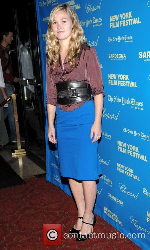 Julia Stiles at the Premiere of 'Happy Go...