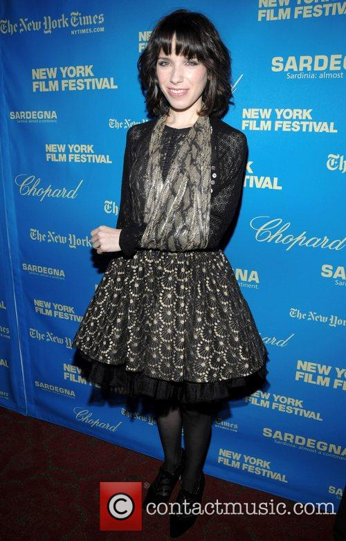 Sally Hawkins at the Premiere of 'Happy Go...