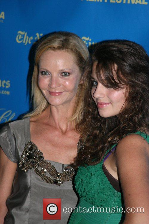 Joan Allen and Sadie Friedman Premiere of 'The...