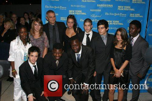 Laurent Cantet and Members Of The Cast