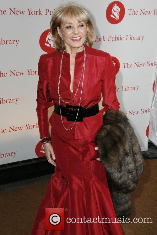 Barbara Walters New York Public Library Library Lions...