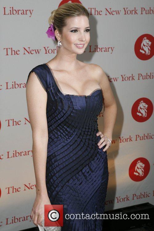 Ivanka Trump New York Public Library Library Lions...