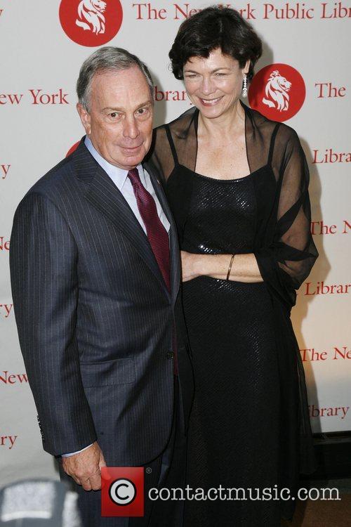 New York City Mayor Michael Bloomberg and Diana...