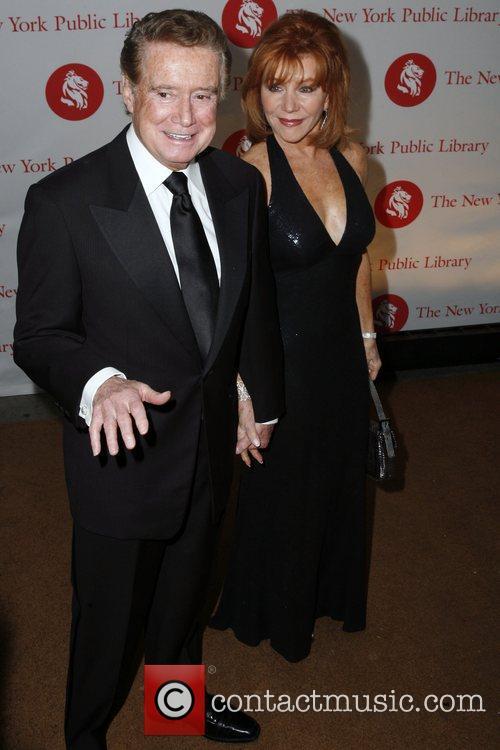 Regis Philbin and Joy Philbin  New York...