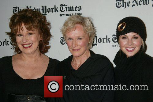 Joy Behar and Glenn Close 2