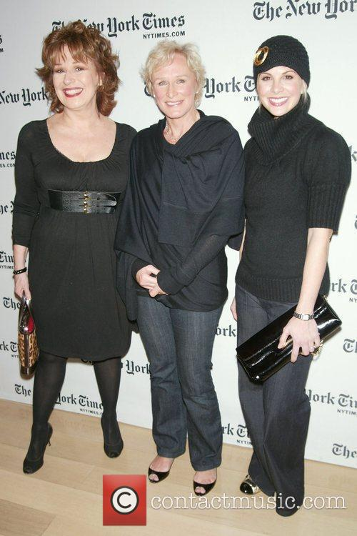 Joy Behar and Glenn Close 1