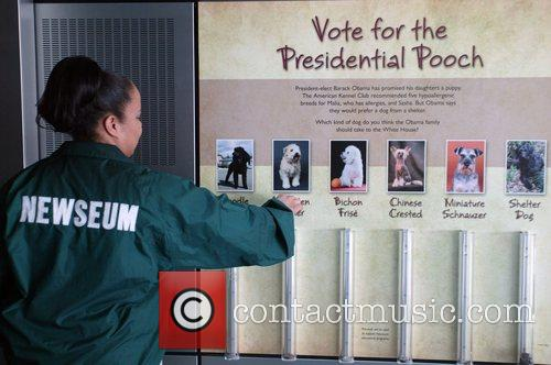The Newseum is polling guests asking them to...