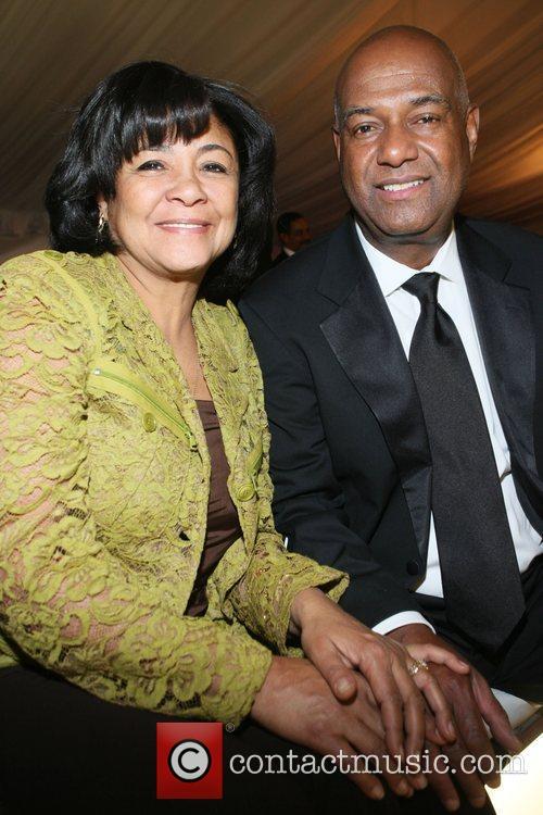 Mr. and Mrs. Noel Hankin attend The Radio...