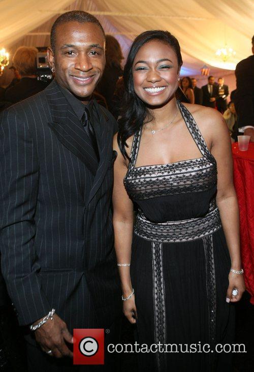 Tommy Davidson and Tatiana Ali 9