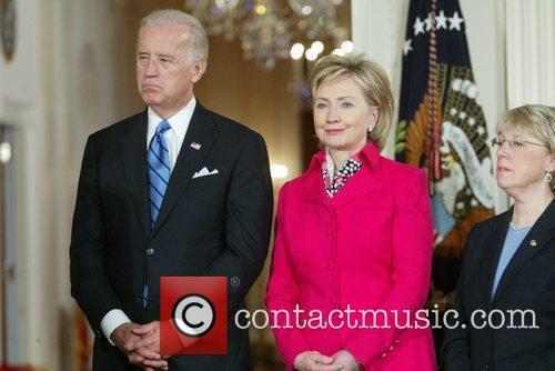 Vice President Joseph Biden and U.S. Secretary of...