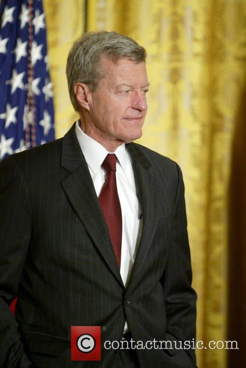 Max Baucus at the presentation of Kansas Governor...