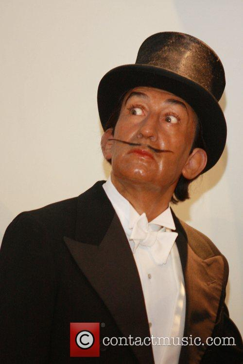 Salvador Dali wax figure