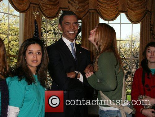 Waxwork unveiling at Madame Tussauds