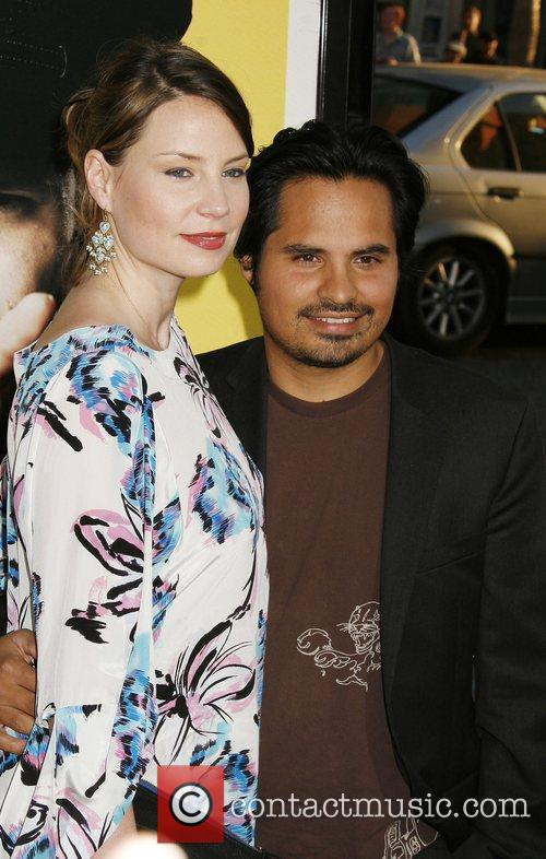 Brie Shaffer and Michael Pena Los Angeles Premiere...