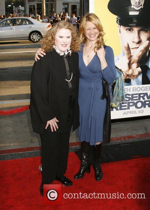 Celia Weston and Guest Los Angeles Premiere of...