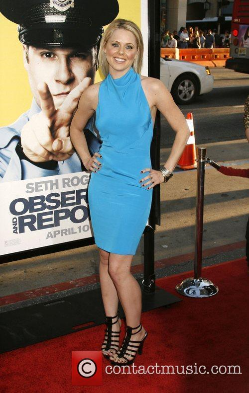Collette Wolfe Los Angeles Premiere of 'Observe and...
