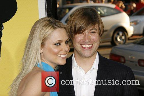 Collette Wolfe and Jody Hill Los Angeles Premiere...