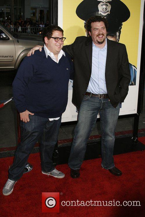 Jonah Hill and Danny McBride Los Angeles Premiere...