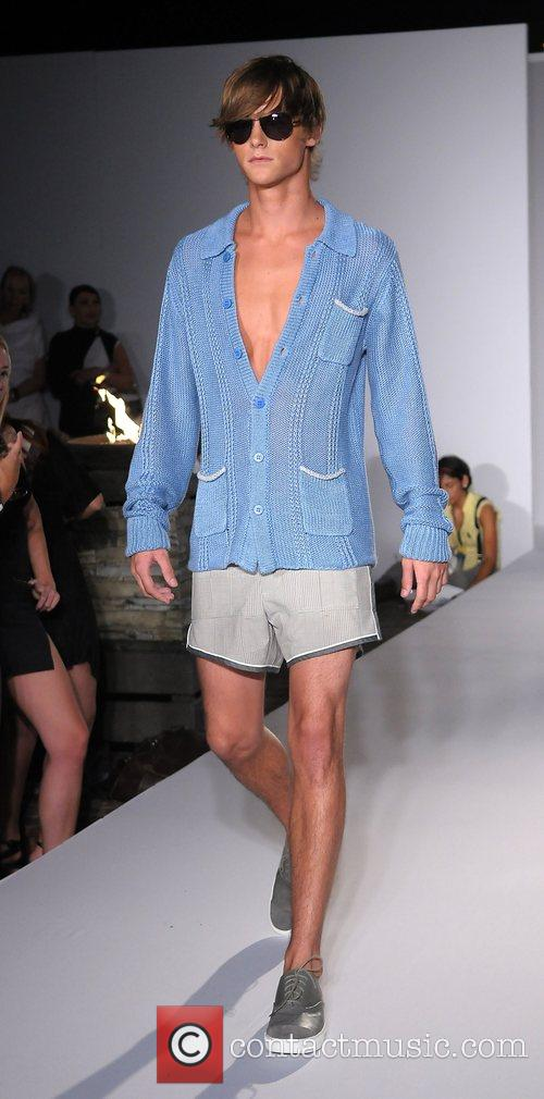 'Ocean Drive Fashion Week' feature designer Perry Ellis...