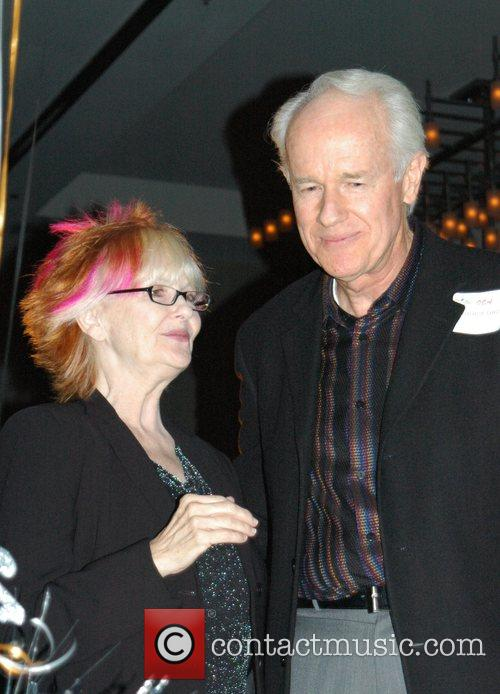 Mike Farrell and Annette Fabre